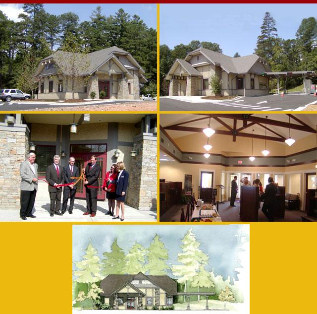 ASHEVILLE SAVINGS BANK - Straus Park Branch - Brevard, NC — Glazer