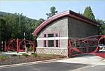 NC ARBORETUM GATEHOUSE & ORNAMENTAL GATES - Asheville