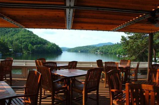 Lakeview Restaurant Rumbling Bald Resort Lake Lure Nc Glazer